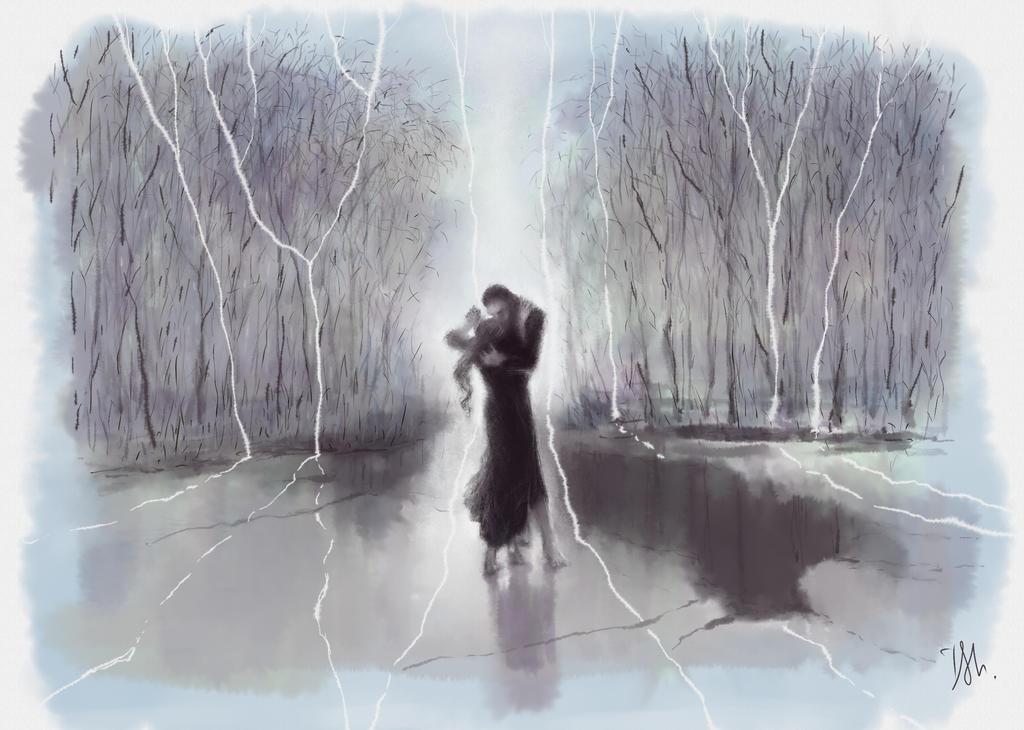 dancing on thin ice by Irsanna