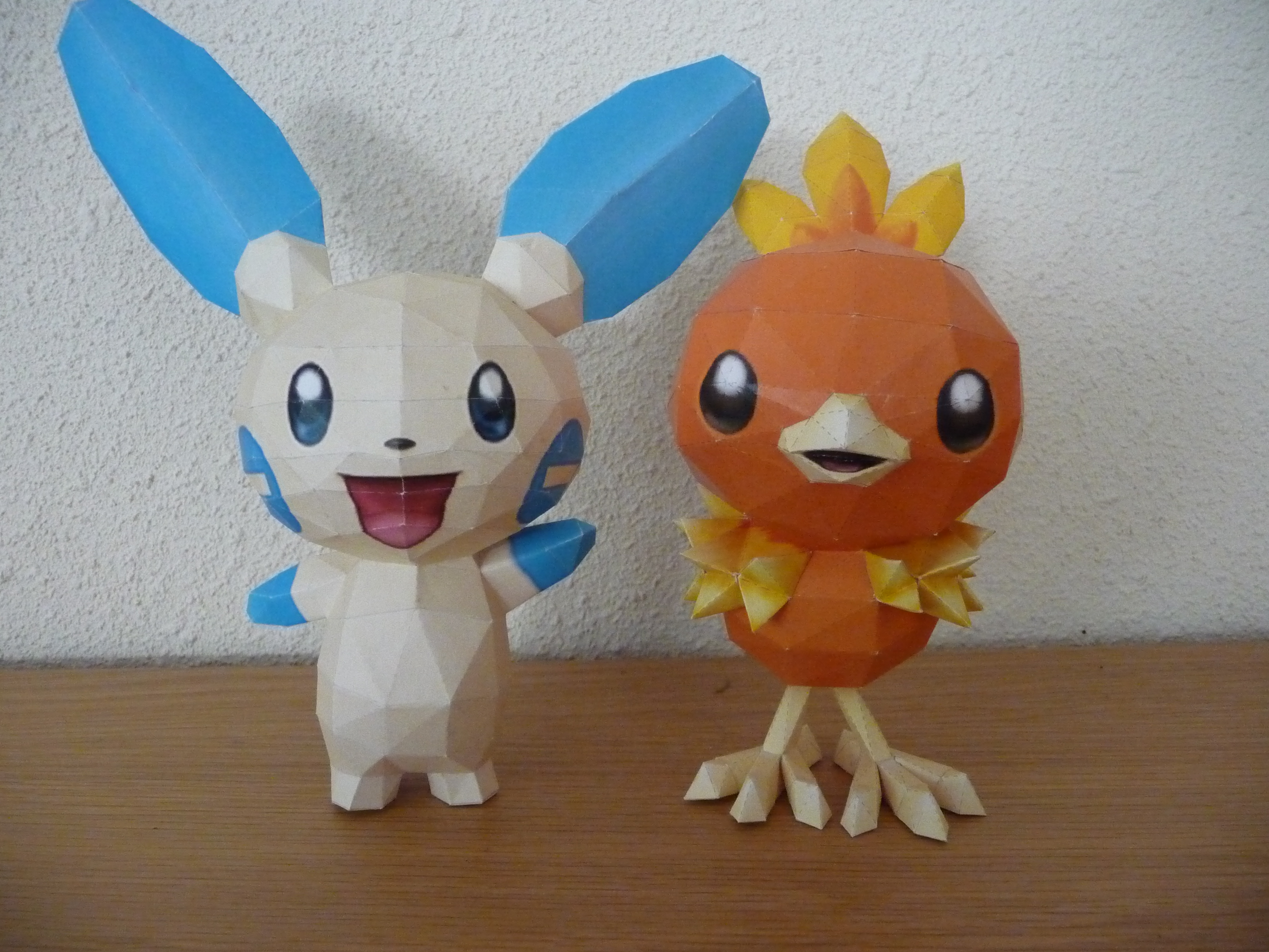 minum and torchic paercraft by dodoman75