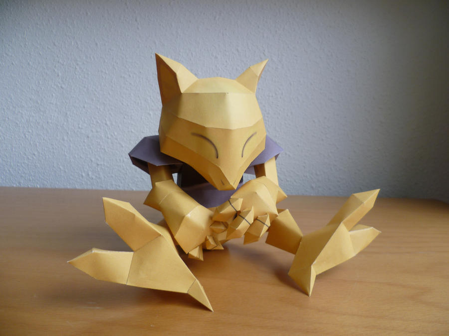 Abra papercraft by dodoman75