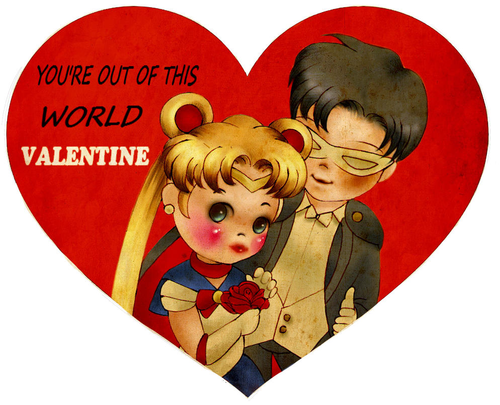 Schön Sailor Moon Valentines Day Card By MissGoldeeLocks ...