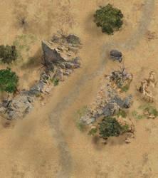 Badlands/Desert Road Ambush