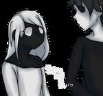 Shiro and Kuro by erin3ko