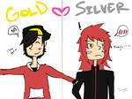 Gold x Silver -- POKeMON