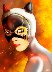 Catwoman by Piteurock