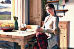 Illania - Morning Coffee by SilusCrow3D