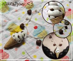 Chocolate Chip Ice Cream by rawrzipan