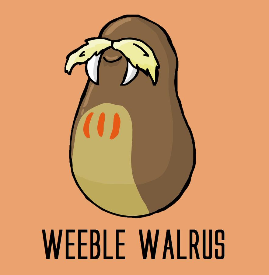 Weeble Walrus by YonderHo
