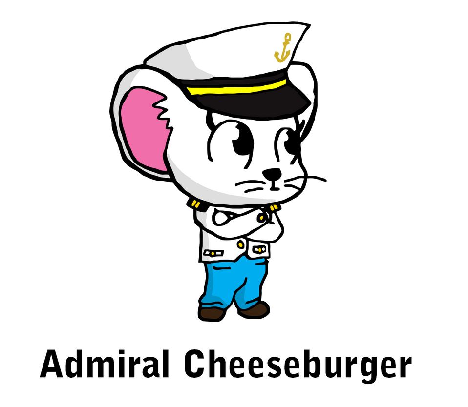 Admiral Cheeseburger by YonderHo