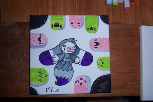 First MiLo 'painting'