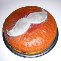 Moustache Bday Cake