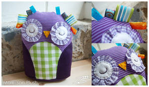Owl Baby Plush Toy