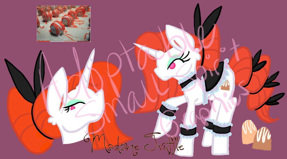 Madame Truffle Adopt (SOLD) by SmallSpiritGraphics