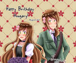 2019 Happy Birthday Hungary by Freya-Mangaworks
