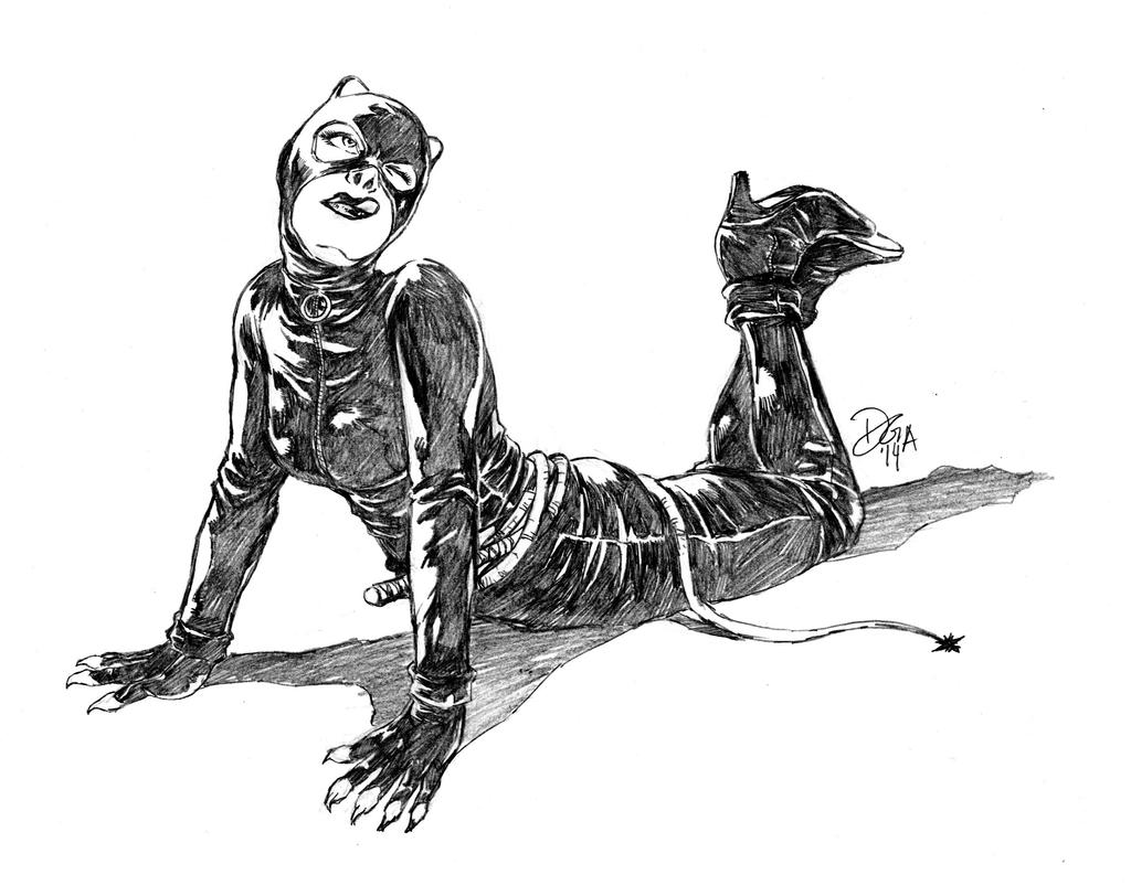 Selina Kyle as Catwoman by donnyg4