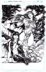 Vampirella and Wonder Woman by donnyg4