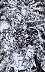 The Good Guys from Berserk Manga by donnyg4