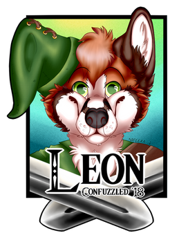 [C] Badge Leon The Fox