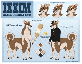 [C] IXXIM Reference Sheet SFW