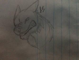 PredatorRex2002's Dire Wolf by Alexadragonfire