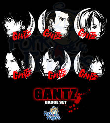 Gantz - 37mm Badges Set 1