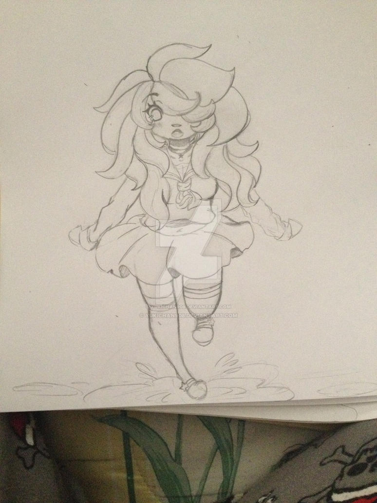Random doodle (My Oc) by yukichan908