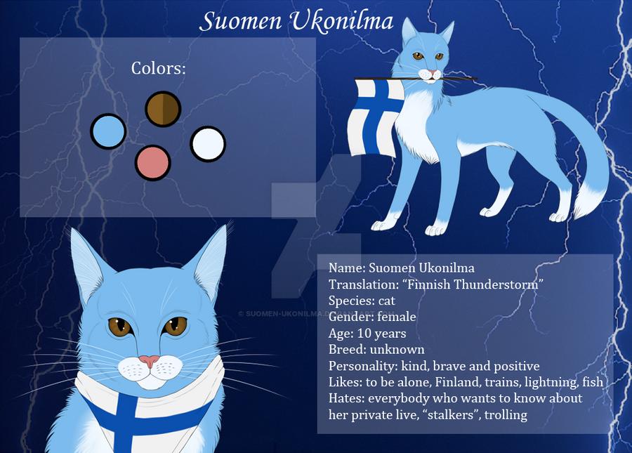 Ukonilma's refsheet [REMAKE] by Suomen-Ukonilma