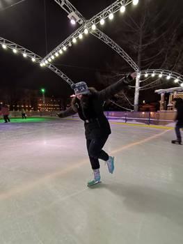 Nika on Ice!