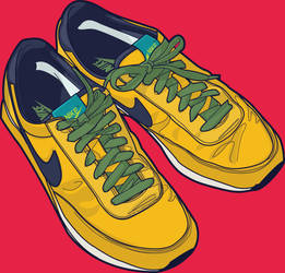 Sports shoes by shingudoo