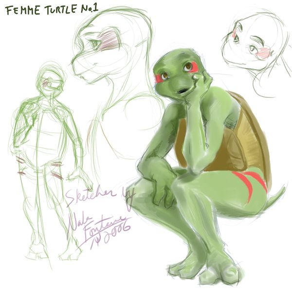 how to draw anthro reptiles