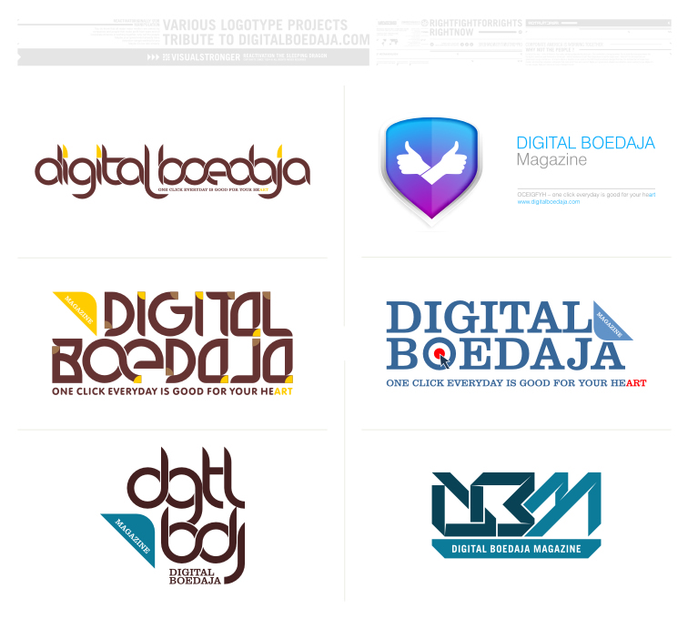 logotype: digitalboedaja by reactivator