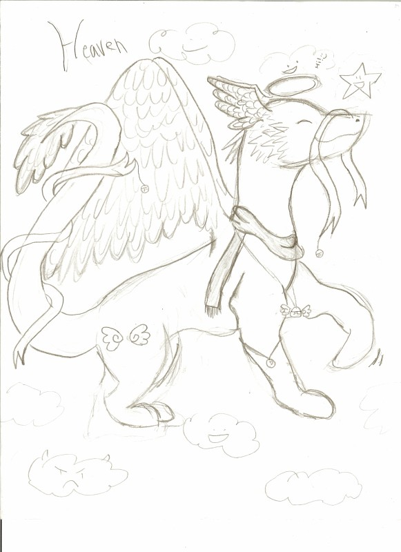 Heh, Art :3 Heaven_Dragon_by_thelazyone22