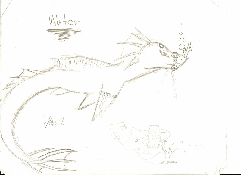 Heh, Art :3 Water_Dragon_by_thelazyone22