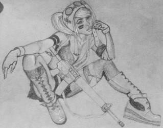 Crouching SteamGirl, Hidden Ammo 2