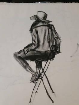 40 minute gesture/sketch