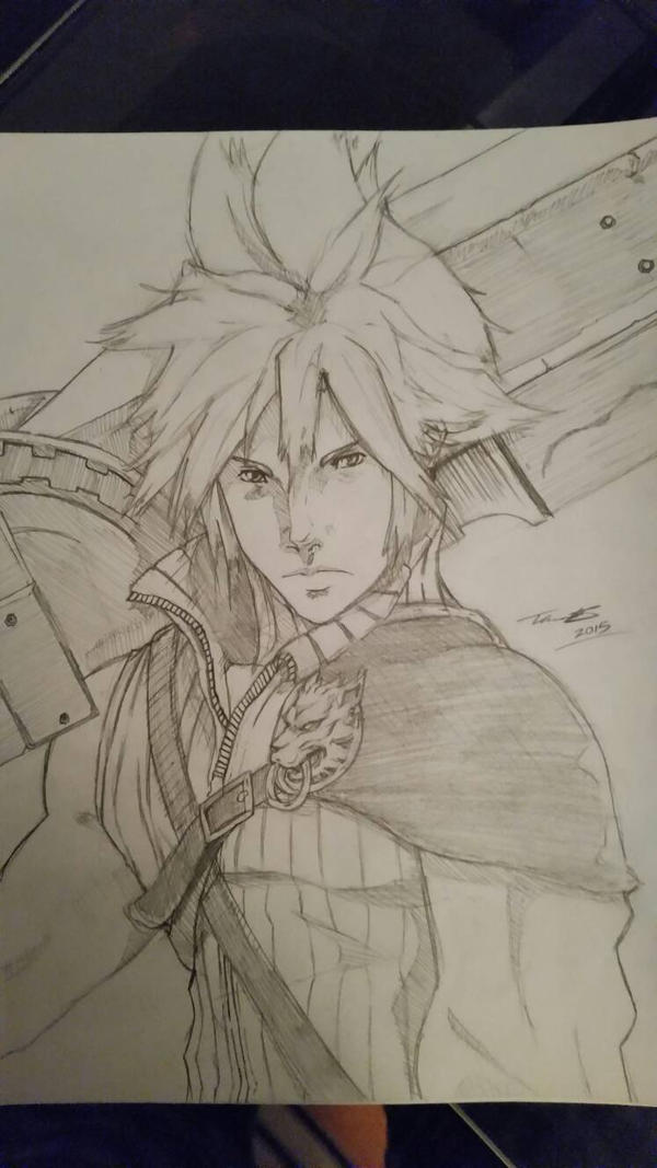 Cloud Strife - Final Fantasy VII Advent Children  by fenrirthomasb