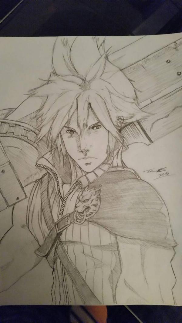 Cloud Strife - Final Fantasy VII Advent Children  by fenrirthomasb