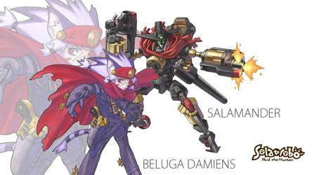 Beluga Damiens Wallpaper