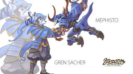 Gren Sacher Wallpaper