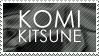 KomiKitsune Stamp by Komi-Kitsune