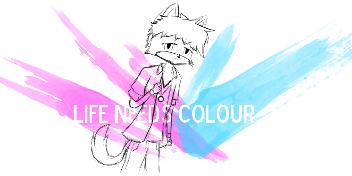 LIFE NEEDS COLOUR by Komi-Kitsune