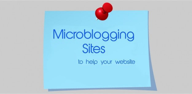 Microblogging Websites such as Twitter