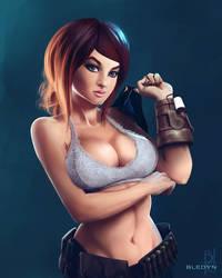 Fallout Girl by bledynart