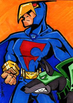 Blue Falcon and Dynomutt