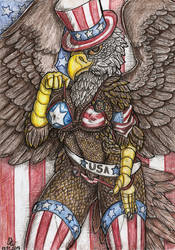 American patriot. by Dirty-Wolf