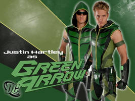 Green Arrow_ Justice Wallpaper by Andy030991