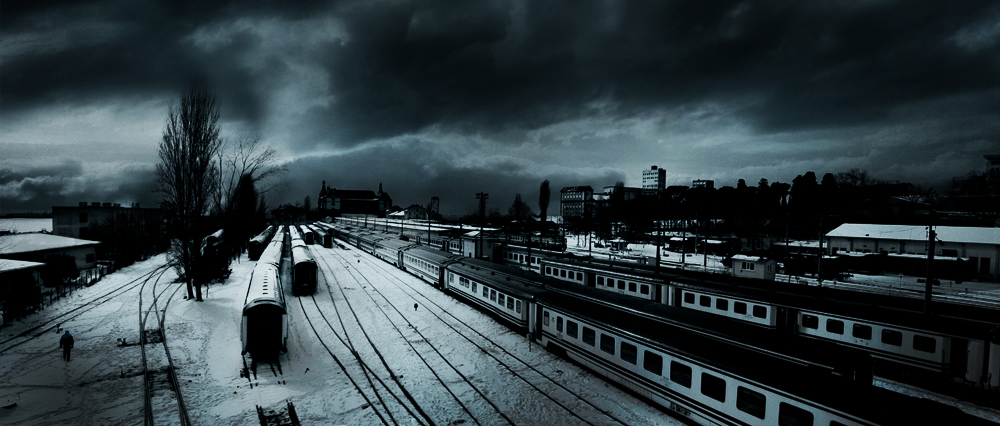Railway by alperyesiltas