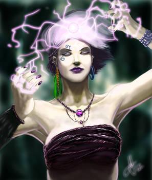 Sorceress Doodle