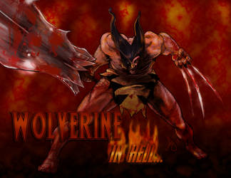 Wolverine Goes To Hell by AJsAlterEgo