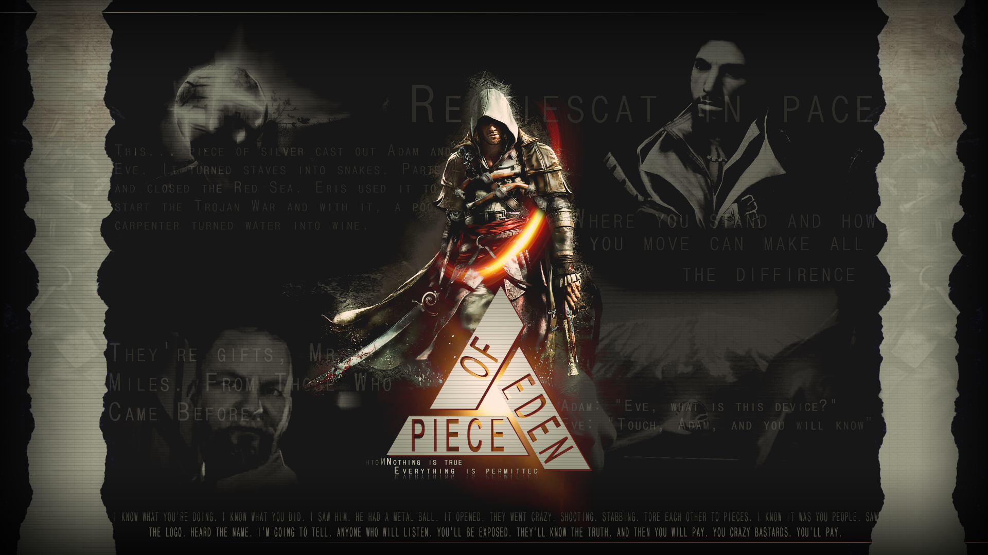Assassins Creed Piece Of Eden Wallpaper By Xargo On Deviantart