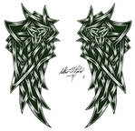 Celtic Wings Tattoo